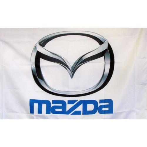 Mazda Logo Car Lot Flag F 1864 By Neoplexonline