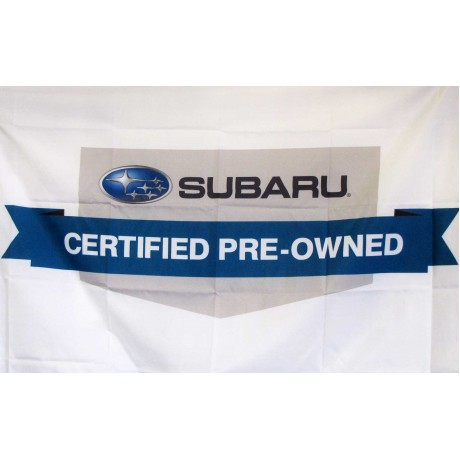 Subaru Certified Pre-Owned Vehicles Car Lot Flag