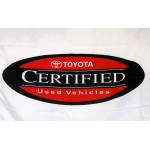 Toyota Certified Used Vehicles Car Lot Flag