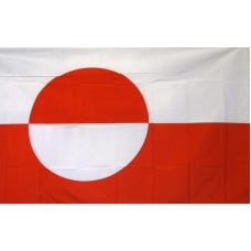 Greenland 3'x 5' Country Flag