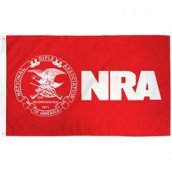 NRA 3'x 5' Flag