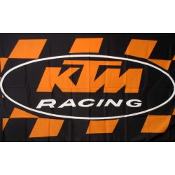 KTM Racing 3'x 5' Flag
