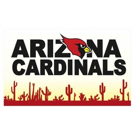 Arizona Cardinals Desert 3' x 5' Polyester Flag