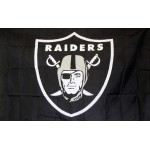 Oakland Raiders Shield 3' x 5' Polyester Flag
