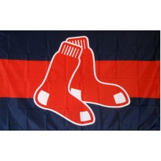 Boston Red Sox Logo 3'x 5' Baseball Flag
