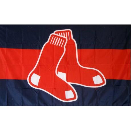 Boston Red Sox Logo 3'x 5' Baseball Flag