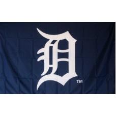 Detroit Tigers Logo 3'x 5' Baseball Flag
