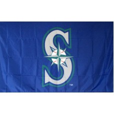 Seattle Mariners 3'x 5' Baseball Flag