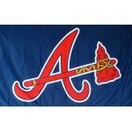 Atlanta Braves 3'x 5' Baseball Flag