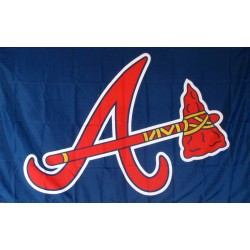 Atlanta Braves 3' x 5' Polyester Flag