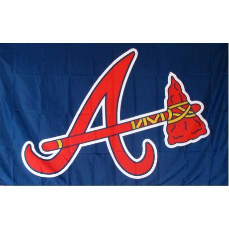 Atlanta Braves 3' x 5' Polyester Flag