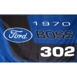 Ford Boss 3' x 5' Polyester Flag