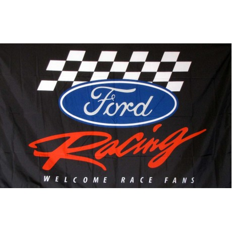 Ford Racing 3' x 5' Polyester Flag