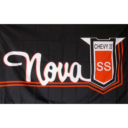 Chevy Nova Auotmotive 3'x 5' Flag (F-1925) - by www.neoplexonline.com