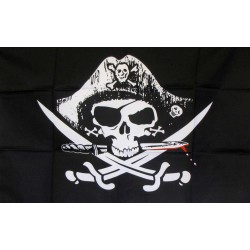 Deadmans Chest 2'x 3' Pirate Flag