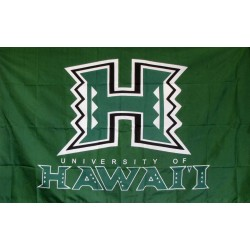 Hawaii Warriors 3'x 5' College Flag