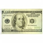 Hundred Dollar Bill 3' x 5' Polyester Flag