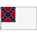 Rebel 2nd Confederate 3'x 5' Flag