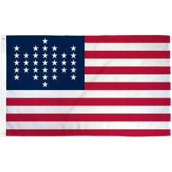 USA Historical 33 Star 3' x 5' Polyester Flag