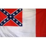 Rebel 3rd Confederate 3' x 5' Flag