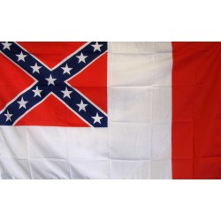 Rebel 3rd Confederate 3' x 5' Flag