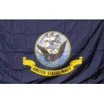 United States Navy 3' x 5' Nylon Flag