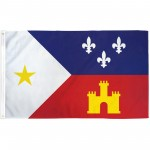Louisiana Acadiana 3' x 5' Polyester Flag