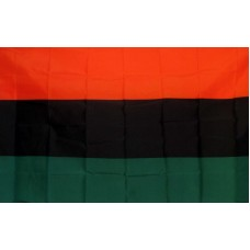 Afro American 3'x 5' Country Flag