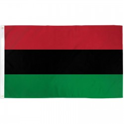 Afro American 3' x 5' Polyester Flag