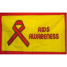 Aids Awareness 3'x 5' Novelty Flag