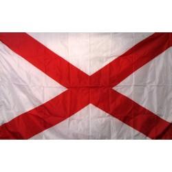 Alabama 3'x 5' Solar Max Nylon State Flag