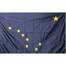 Alaska 3'x 5' Solar Max Nylon State Flag