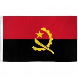 Angola 3' x 5' Polyester Flag