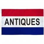 Antiques Patriotic 3' x 5' Polyester Flag