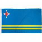Aruba 3' x 5' Polyester Flag