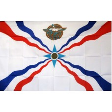 Assyrian 3'x 5' Country Flag