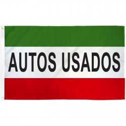 Autos Usados 3' x 5' Polyester Flag
