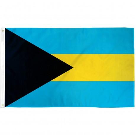 Bahamas 3' x 5' Polyester Flag