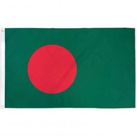 Bangladesh 3' x 5' Polyester Flag