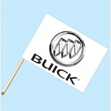 Buick Flag/Staff Combo