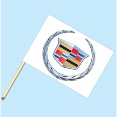 Cadillac Flag/Staff Combo