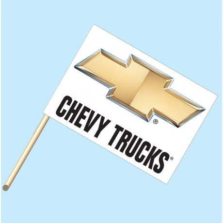 Chevy Trucks Flag/Staff Combo