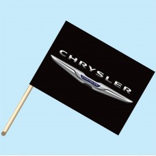 Chrysler Flag/Staff Combo