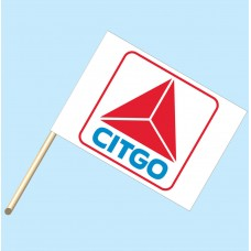 Citgo Flag/Staff Combo
