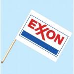 Exxon Flag/Staff Combo