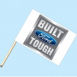 Built Ford Tough Flag/Staff Combo