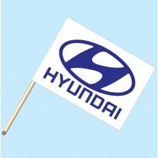 Hyundai Flag/Staff Combo