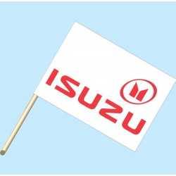 Isuzu Flag/Staff Combo