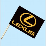 Lexus Flag/Staff Combo