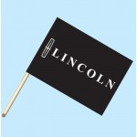Lincoln Flag/Staff Combo